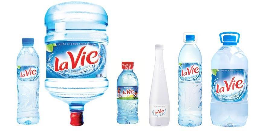 Sản phẩm nước khoáng lavie 500ml chất lượng tốt