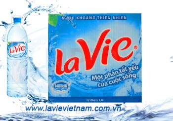 Nước Khoáng Lavie 1,5ML